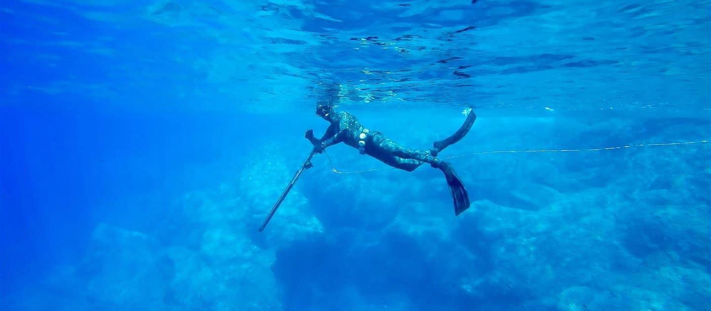 spearguns spearfishing open water