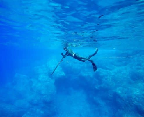 Spearfishing safety tips when you're hunting fish in the open ocean