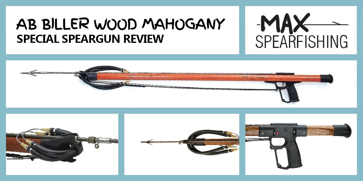 AB Biller Mahogany Speargun