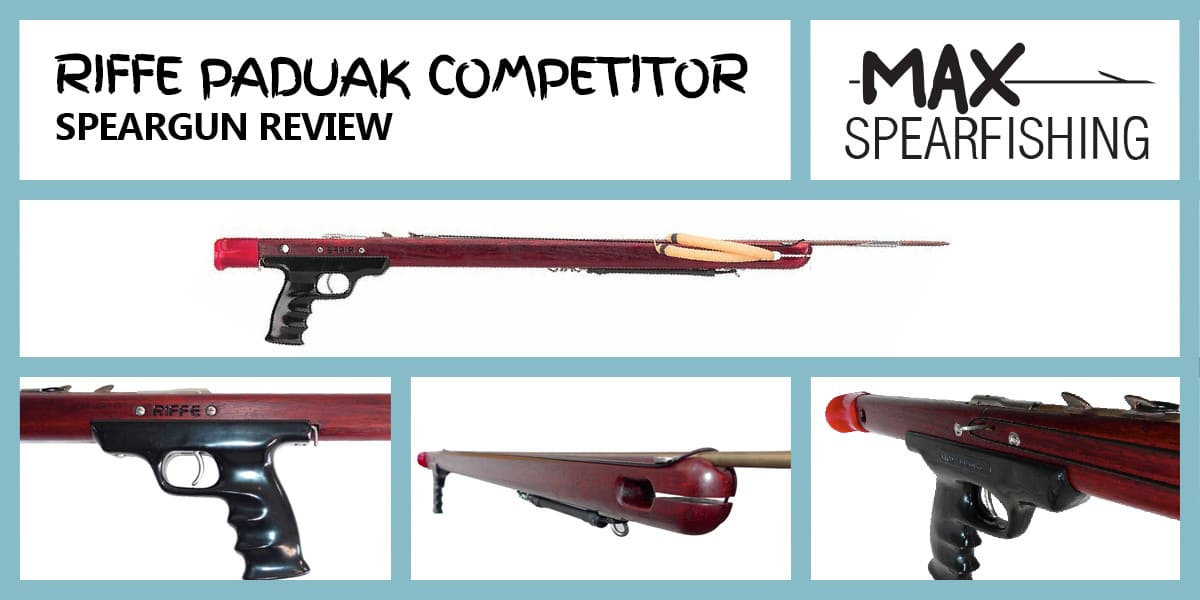 riffe padauk competitor speargun review
